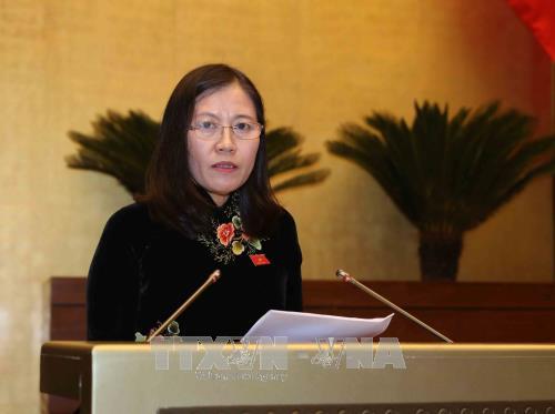 Someten a revisión informes de organismos en el Comité Jurídico del Parlamento vietnamita - ảnh 1