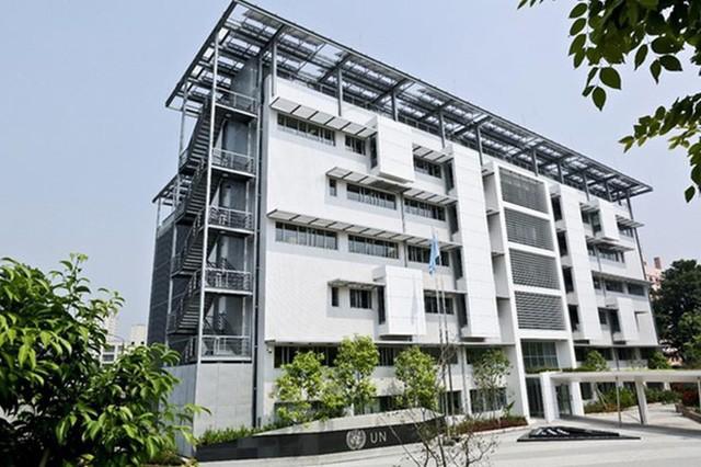 Casa Verde de la ONU en Hanói recibe premio del Consejo Mundial de Construcciones Verdes - ảnh 1