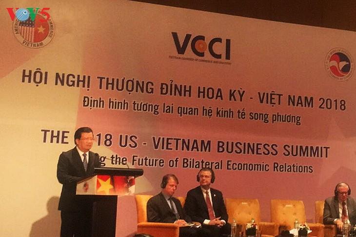 Se comprometen a brindar condiciones favorables a las empresas estadounidenses en Vietnam - ảnh 1