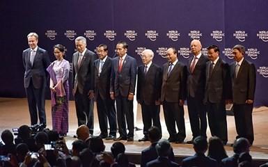 Inauguran en Hanói la reunión del Foro Económico Mundial sobre la Asean - ảnh 1