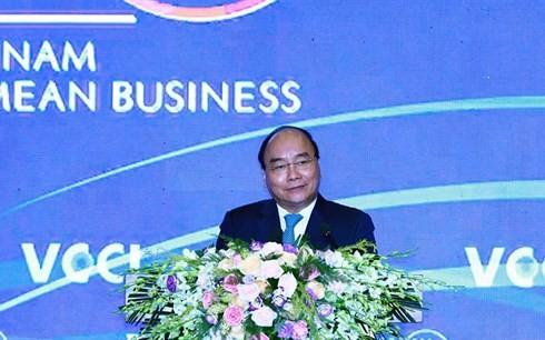 Inauguran Cumbre Empresarial de Vietnam  - ảnh 1