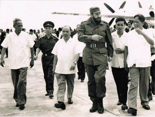 La memorable visita de Fidel - ảnh 1