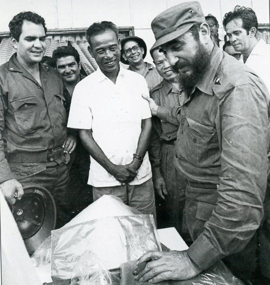 La memorable visita de Fidel - ảnh 7