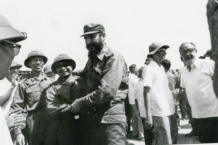La memorable visita de Fidel - ảnh 4