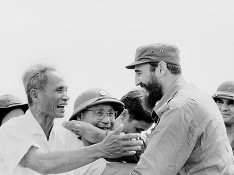 La memorable visita de Fidel - ảnh 2