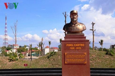 La gente de Quang Tri lleva a Fidel en sus corazones - ảnh 3