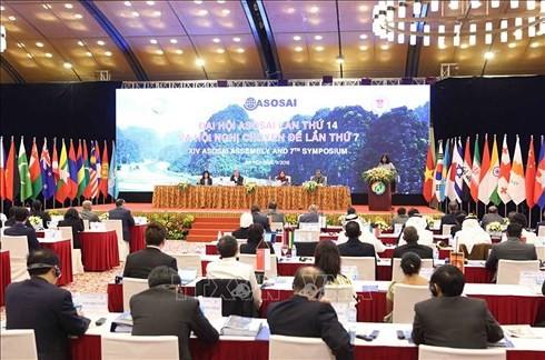 Inauguran en Hanói XIV Congreso de la Organización de Entidades Fiscalizadoras de Asia - ảnh 1
