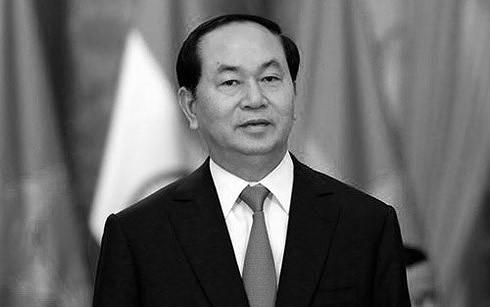 Emiten comunicado especial sobre el fallecimiento de presidente vietnamita - ảnh 1