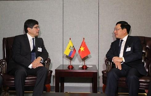 Canciller vietnamita participa en conferencia ministerial Asean-Alianza del Pacífico - ảnh 2