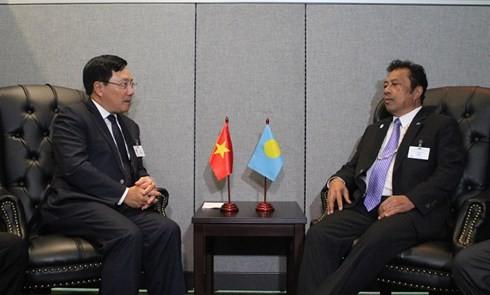 Canciller vietnamita participa en conferencia ministerial Asean-Alianza del Pacífico - ảnh 3