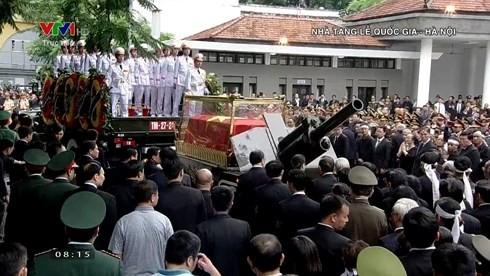 Se despiden del presidente Tran Dai Quang - ảnh 2