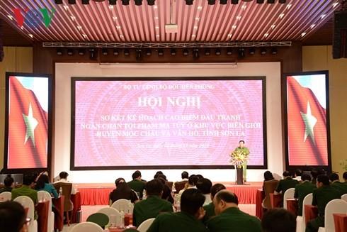 Revisan eficiencia de la lucha antidroga en provincia norvietnamita - ảnh 1