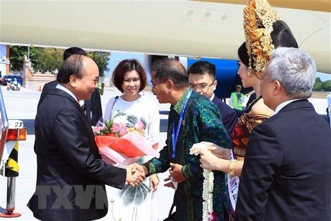 Inicia actividades el premier vietnamita en Indonesia  - ảnh 1