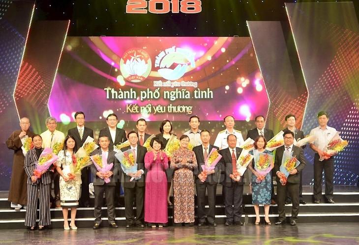 Ciudad de Ho Chi Minh recauda más de 1,8 millones de dólares para los pobres - ảnh 1