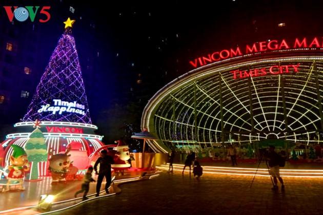 Ambiente navideño de Hanói - ảnh 5