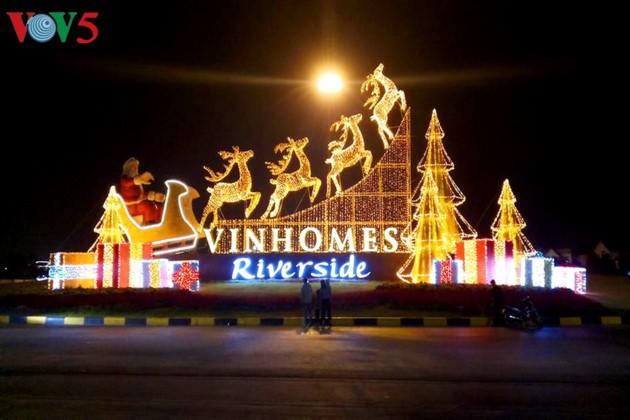 Ambiente navideño de Hanói - ảnh 6