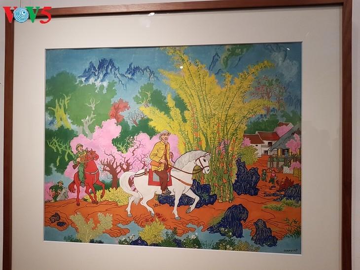 Inauguran exposición sobre primavera en Hanói - ảnh 1