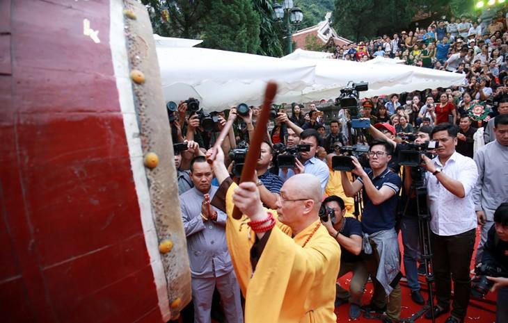 Inician festividades tradicionales en varias localidades vietnamitas - ảnh 2