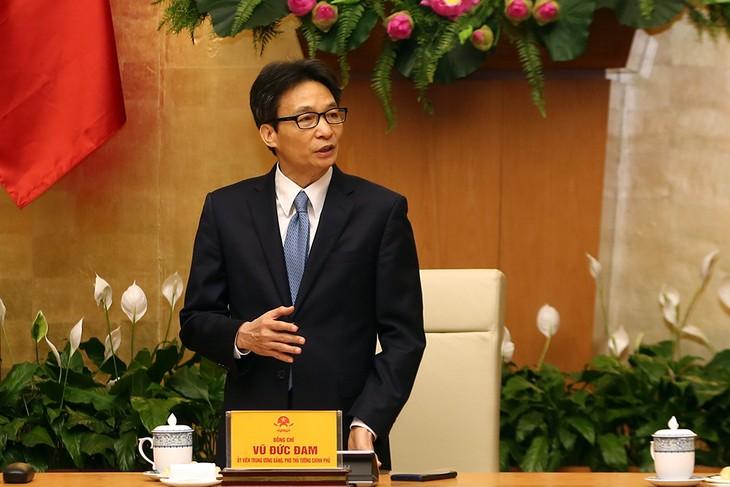 Vicepremier vietnamita se reúne con autores de grandes proyectos científicos - ảnh 1