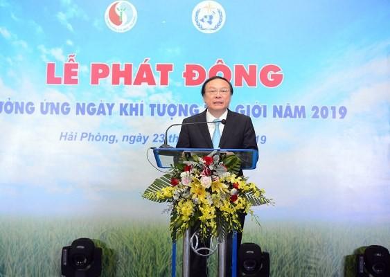 Sector meteorológico vietnamita contribuye a la lucha y prevención de los desastres naturales en el mundo - ảnh 1