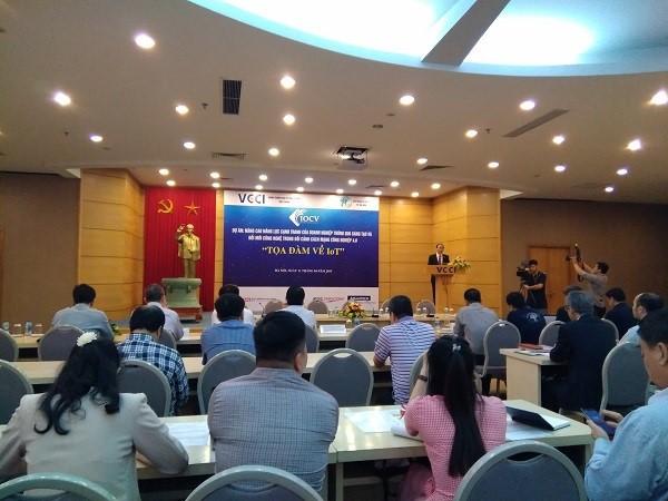 Vietnam por aplicar el Internet de las cosas en producción y comercio - ảnh 1