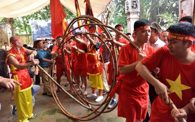Tiro de la cuerda en posición sentada, Patrimonio Cultural Inmaterial de la Humanidad - ảnh 2