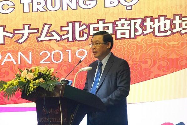 Vietnam promueva las inversiones niponas en región norteña del Centro - ảnh 1