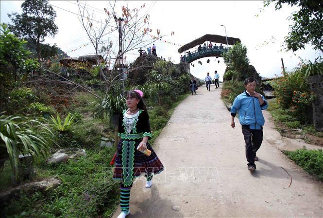 Lai Chau: cuando la renovación rural va de la mano con el turismo comunitario - ảnh 1