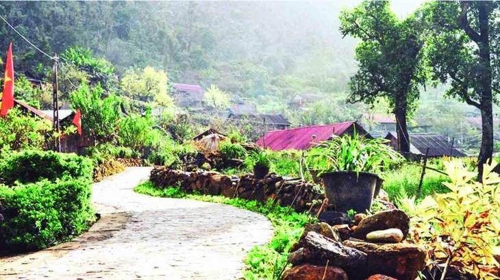 Lai Chau: cuando la renovación rural va de la mano con el turismo comunitario - ảnh 2
