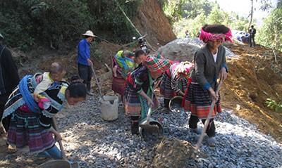 Lai Chau: cuando la renovación rural va de la mano con el turismo comunitario - ảnh 3