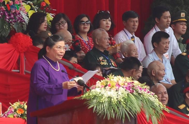 Conmemoran el 65 aniversario de la victoria de la batalla de Dien Bien Phu - ảnh 1