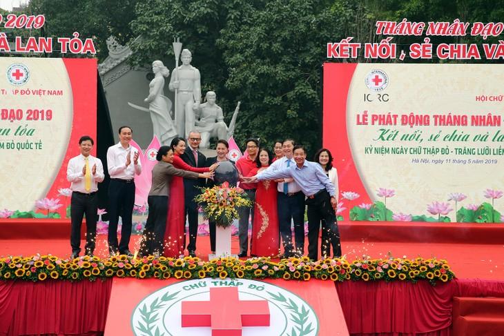 Lanzan en Vietnam el Mes de Acción Humanitaria 2019 - ảnh 1