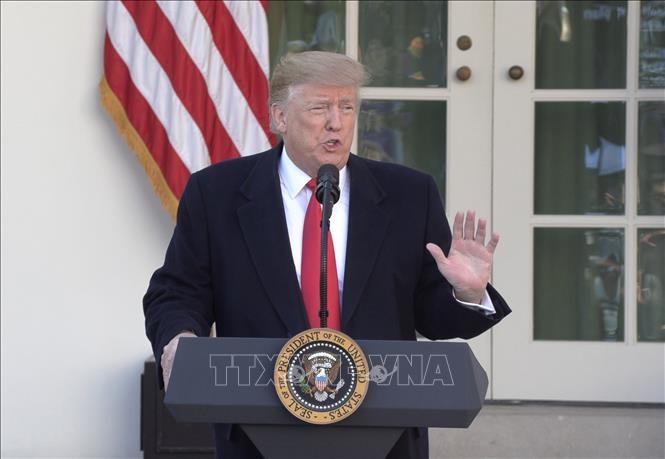 Trump urge a China a acelerar negociaciones comerciales - ảnh 1