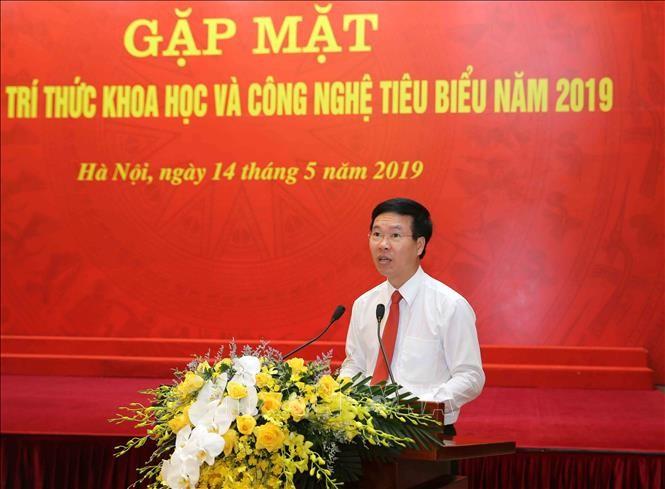 Científicos vietnamitas relevantes intercambian sobre el desarrollo del sector - ảnh 1