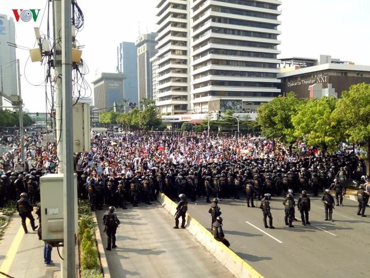 Indonesia inestable después de anunciados resultados de presidenciales - ảnh 1