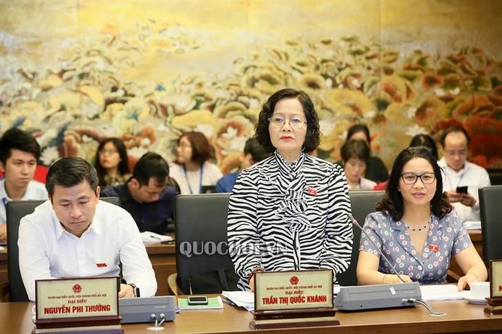 Parlamento vietnamita revisa desarrollo socioeconómico - ảnh 1