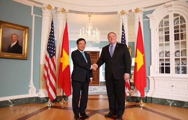 Vietnam otorga importancia a los nexos con Estados Unidos - ảnh 1