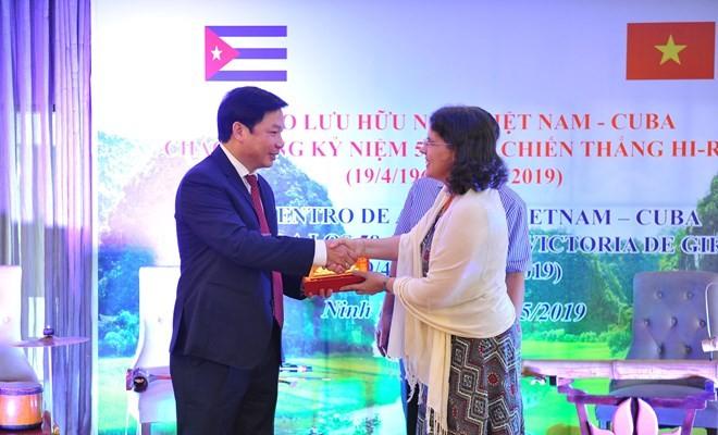 Ninh Binh aspira a promover cooperación con localidades de Cuba - ảnh 1