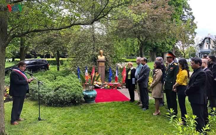 Presidente Ho Chi Minh, en la memoria de amigos franceses - ảnh 3