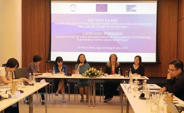 Presentan en Vietnam investigación sobre empresas y derechos humanos - ảnh 1