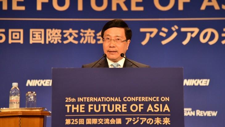 Vietnam en 25 Conferencia Internacional sobre el Futuro de Asia - ảnh 1
