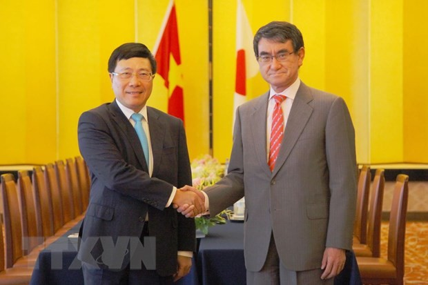 Vietnam y Japón acuerdan medidas para aumentar la conexión económica - ảnh 1