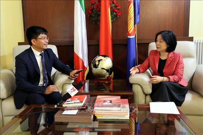 Evalúan de fructíferos los lazos entre Vietnam e Italia - ảnh 1