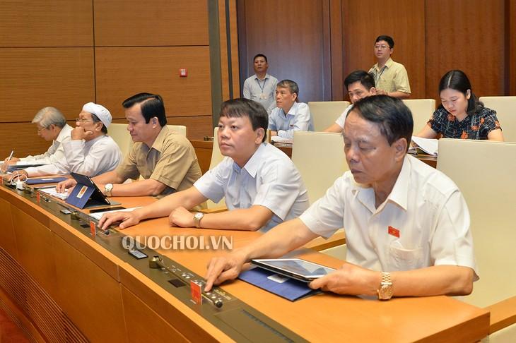 Parlamento de Vietnam aprueba leyes enmendadas - ảnh 1