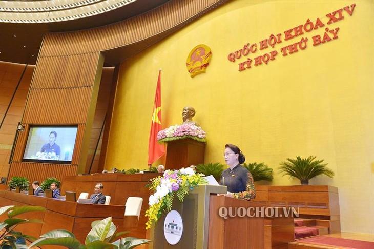 Asamblea Nacional de Vietnam concluye séptimo período de sesiones - ảnh 1