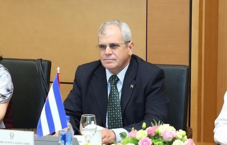 Cuba intercambia experiencias en legislación con Vietnam - ảnh 1