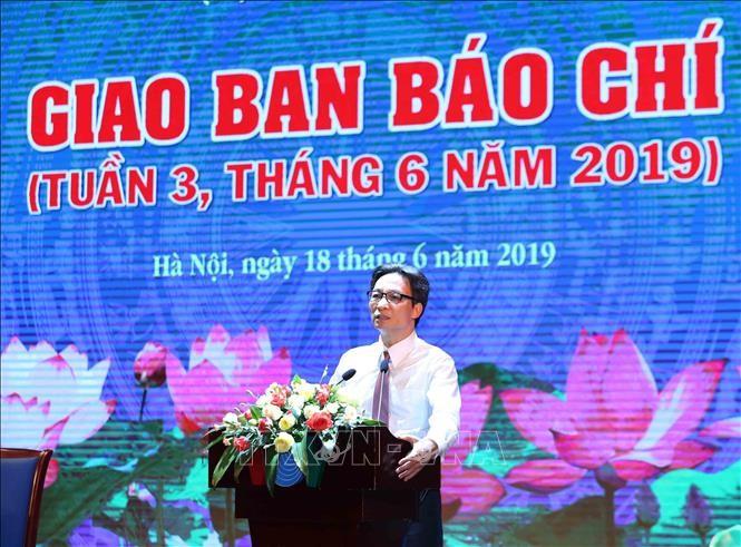 Piden a la prensa vietnamita mejor cumplimiento de sus funciones - ảnh 1