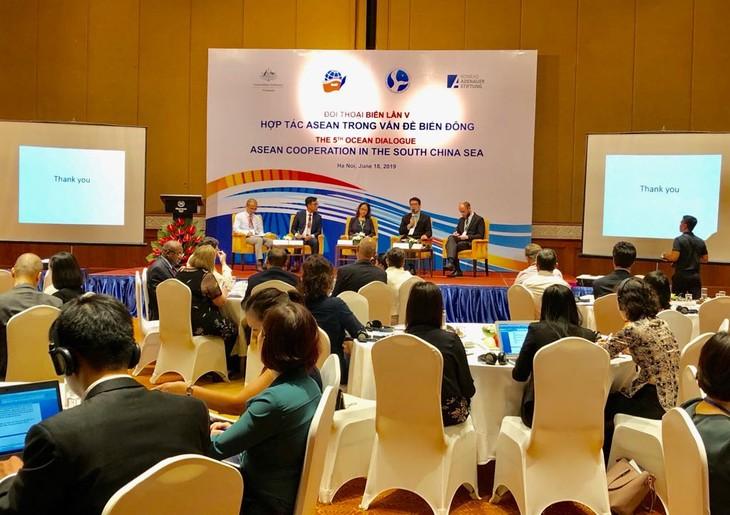 Asean fomenta cooperación en la solución de disputas en mar - ảnh 1