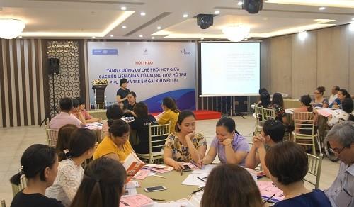 Vietnam impulsa apoyos a las mujeres y niñas discapacitadas - ảnh 1