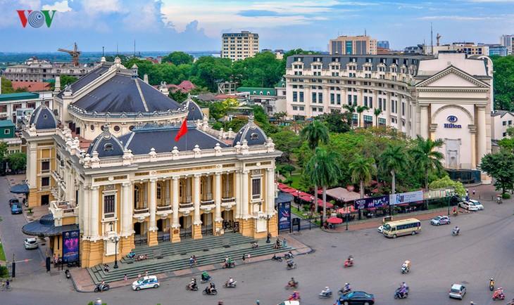 Hanói recibe a más de 14 millones de visitantes en primer semestre de 2019 - ảnh 1